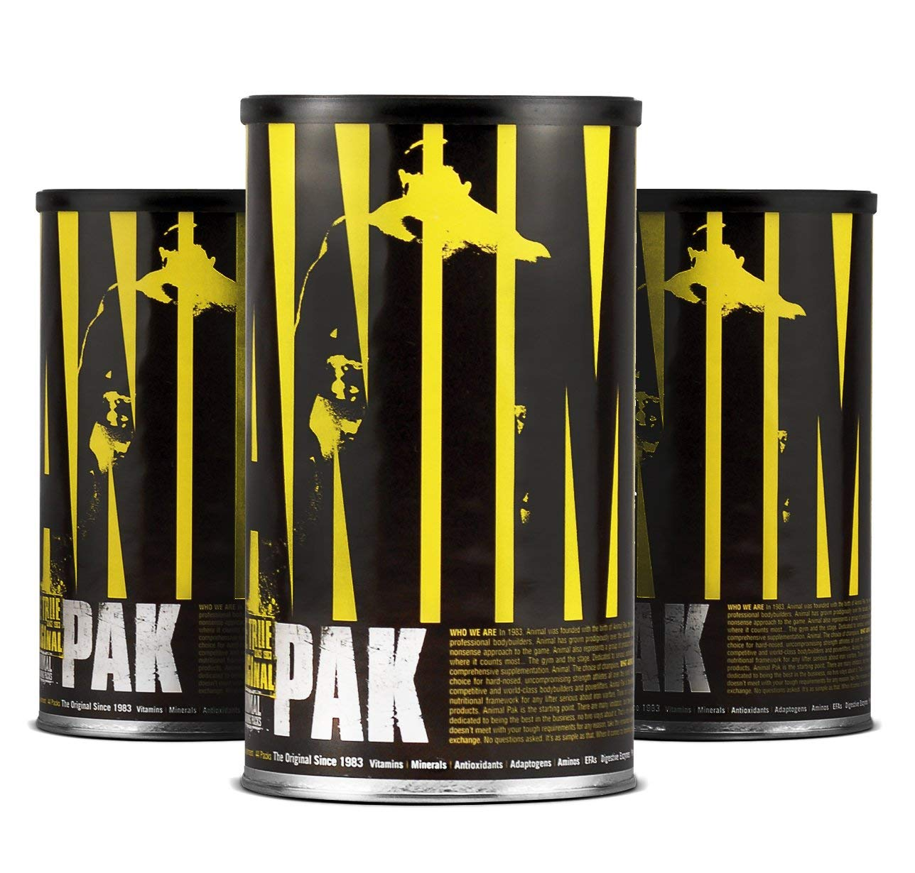 Universal Nutrition Animal Pak, The Ultimate Training Pak 44 ea(pack of 3)