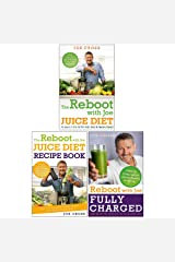 The Reboot with Joe 3 Books Collection Set by Joe Cross (The Reboot with Joe Juice Diet, Juice Diet Recipe Book, Fully Charged) Paperback