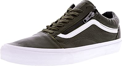 e5f8cca9e5 Vans MEN Old Skool Zip Green White 10.5 SHOES  Amazon.co.uk  Shoes ...
