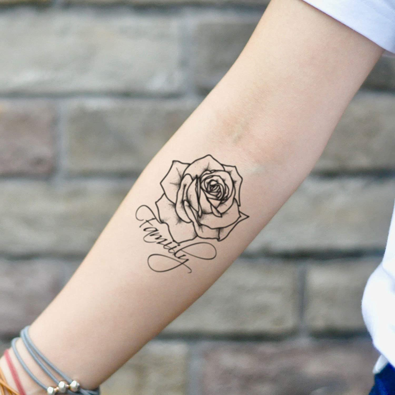 Tatuaje Temporal de Familia rosa (2 Piezas) - www.ohmytat.com ...