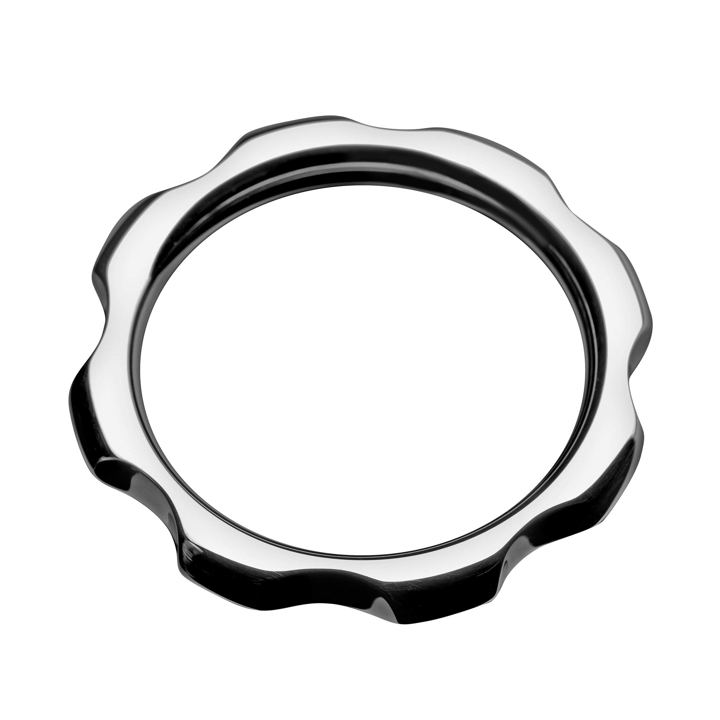 Master Series Gear Head Metal Cock Ring, 1.75 Inch by Master Series