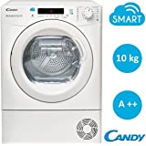 Candy CS H10A2DE-S Freestanding Front-load 10kg A++ White - Tumble Dryers (Freestanding, Front-load, Heat pump, White, Buttons, Rotary, Left)