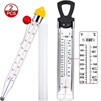 BBTO 2 Packs Candy Thermometer