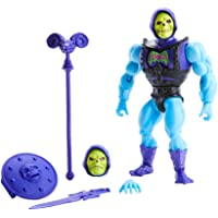 Masters of The Universe Origins Deluxe Skeletor Action Figure, 5.5-in Battle Character for Storytelling Play and Display…