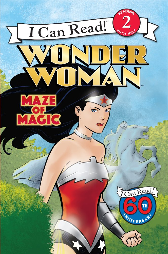Read Online Wonder Woman: Maze Of Magic (Turtleback School & Library Binding Edition) (I Can Read, Level 2: Wonder Woman) ebook