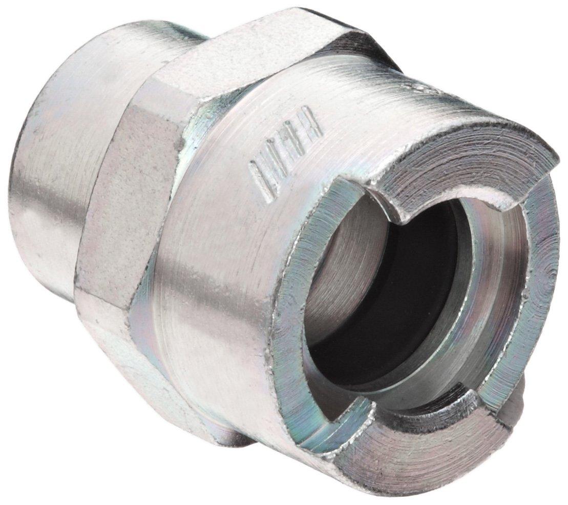 1//2 Male Locking Head x 1//2 NPT Male Dixon QM66 Plated Steel Dix-Lock Quick Acting Air Hose Fitting
