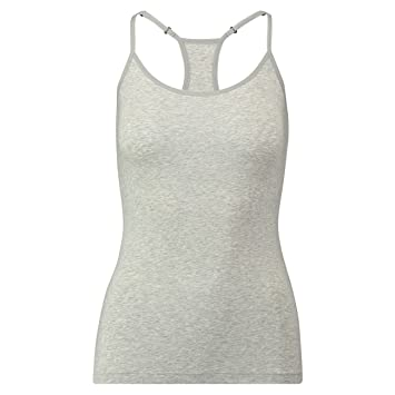 Puma Iconic Racer Back Tank Top 1P Ropa Interior, Mujer, Gris, Extra-