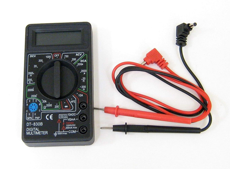 BW#A LCD Digital DT830B Multimeter Tester Meter Voltmeter Ammeter
