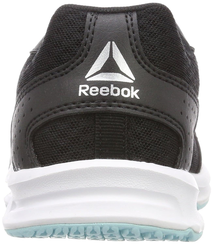 Express Runner, Zapatillas de Trail Running para Mujer, Negro (Black/Blue Lagoon/White/Silver 000), 35.5 EU Reebok