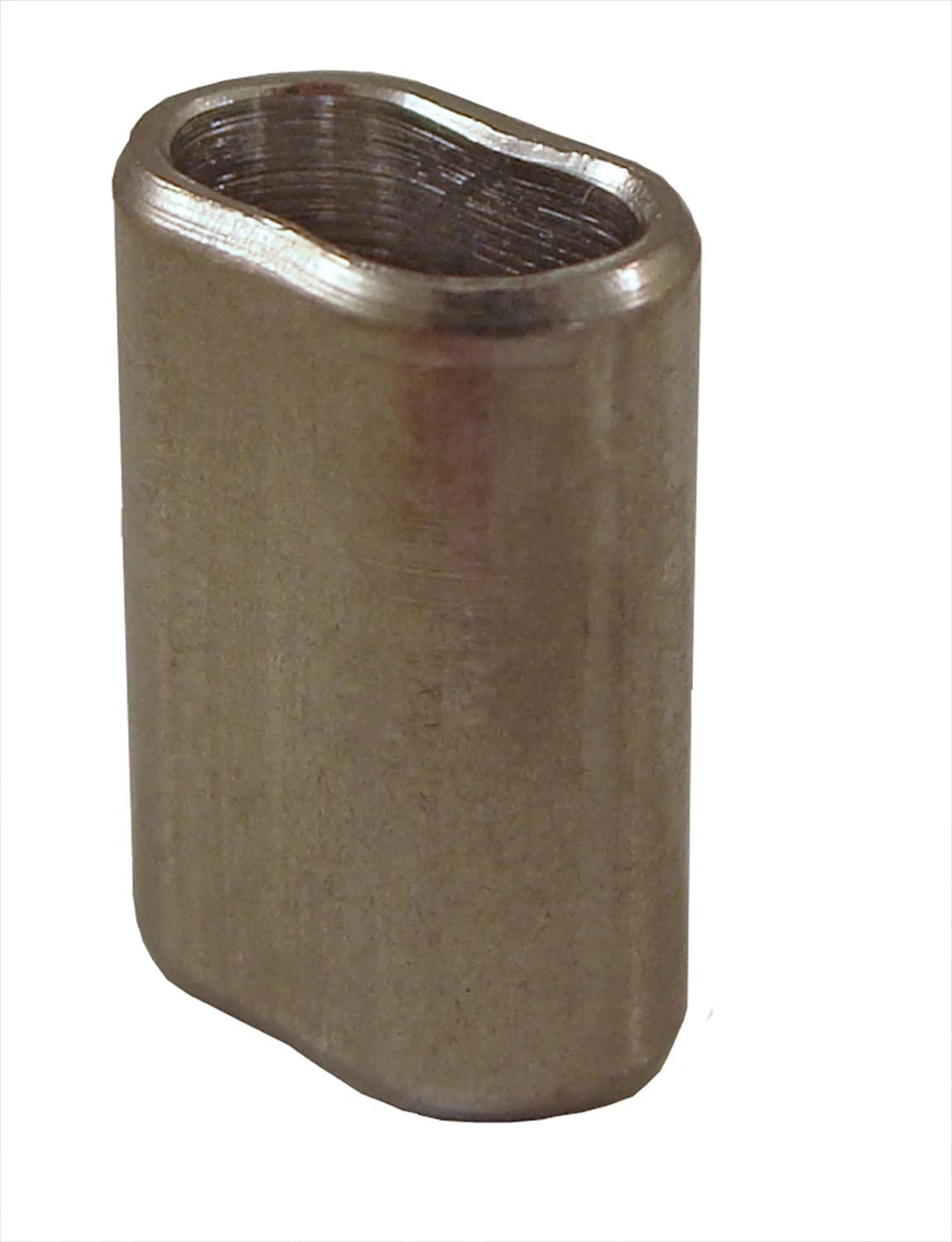 Loos Cableware SL11-8 Stainless Steel Crimping Sleeve for 1/4' Diameter Wire Rope Loos & Co