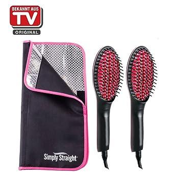 Zócalo Original Genius Simply Straight, 3 piezas. glättb ürste Cepillo para el cabello nuevo: Amazon.es: Electrónica