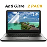 """[2 Pack] FORITO 14"""" Anti Glare Anti Scratch Laptop Screen Protector for HP/DELL/Asus/Acer/Sony/Samsung/Lenovo/Toshiba, Display 16:9"""