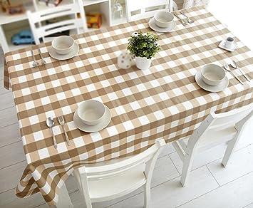 Home Wohnzimmer Tischdecke Gitter Runde Tischdecke Couchtisch Kühlschrank  TV Decke Stoff Tischdecke , #1 ,