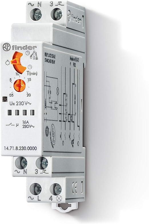 Finder 147182300000PAS - Automático de escalera monofunción 1 ...