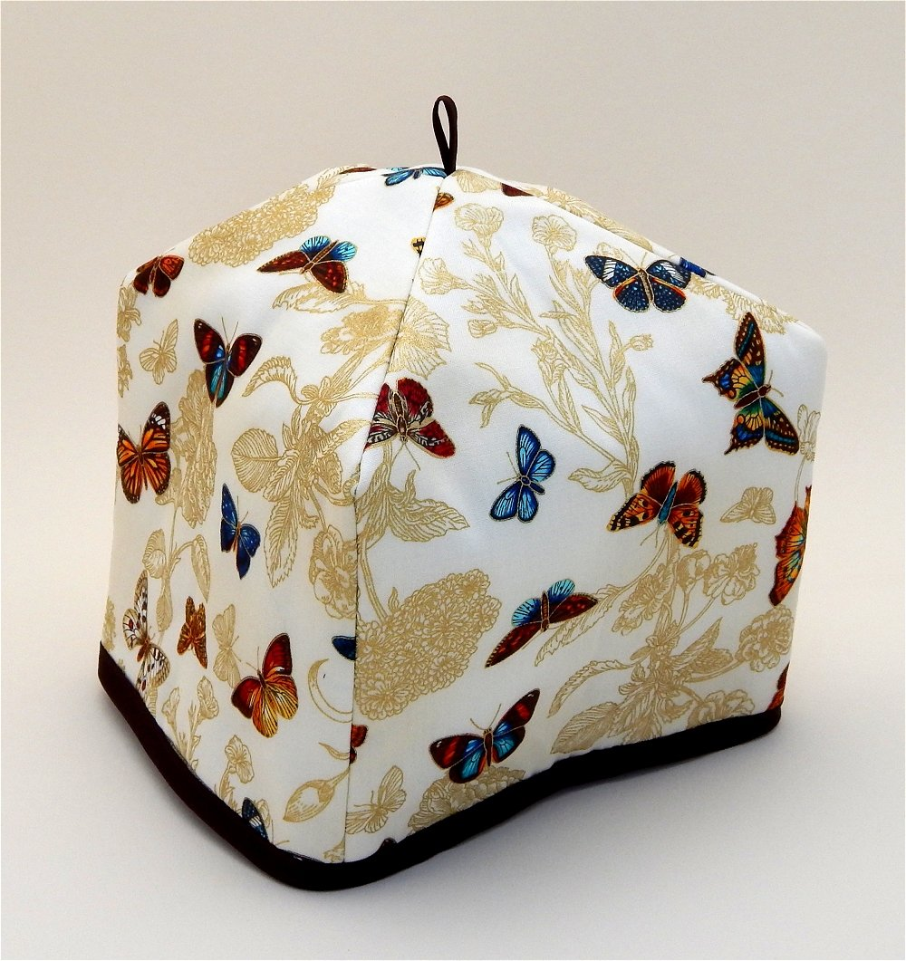 Butterflies and Floral Tea Cozy by A Bit of Britain
