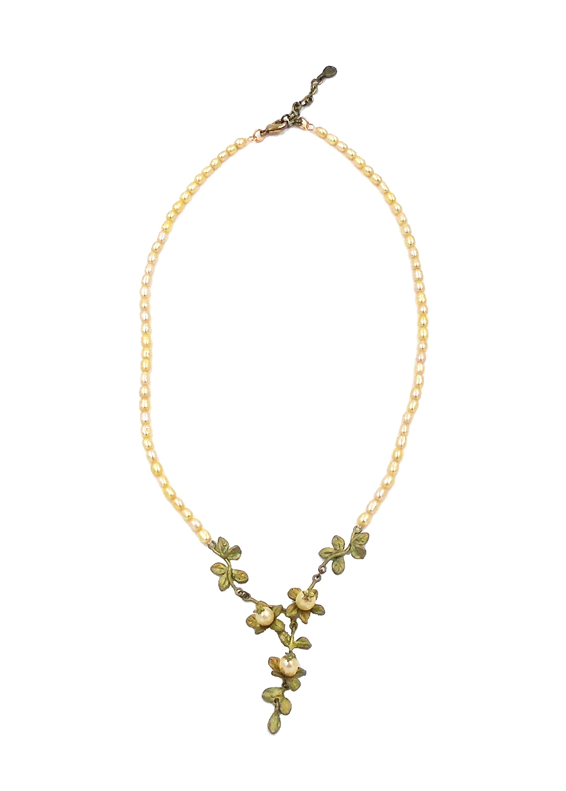 ''Quince Celebrations'' Pearl Necklace By Michael Michaud (OURS EXCLUSIVELY) for Silver Seasons…