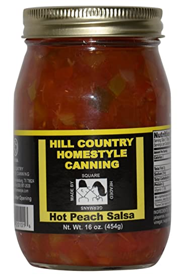 Texas Hill Country Hot Peach Salsa 16oz