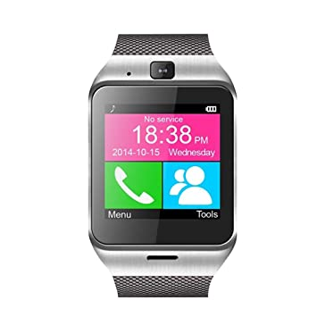 Aplus - Bluetooth Smart Watch Reloj Teléfono Inteligente con ...