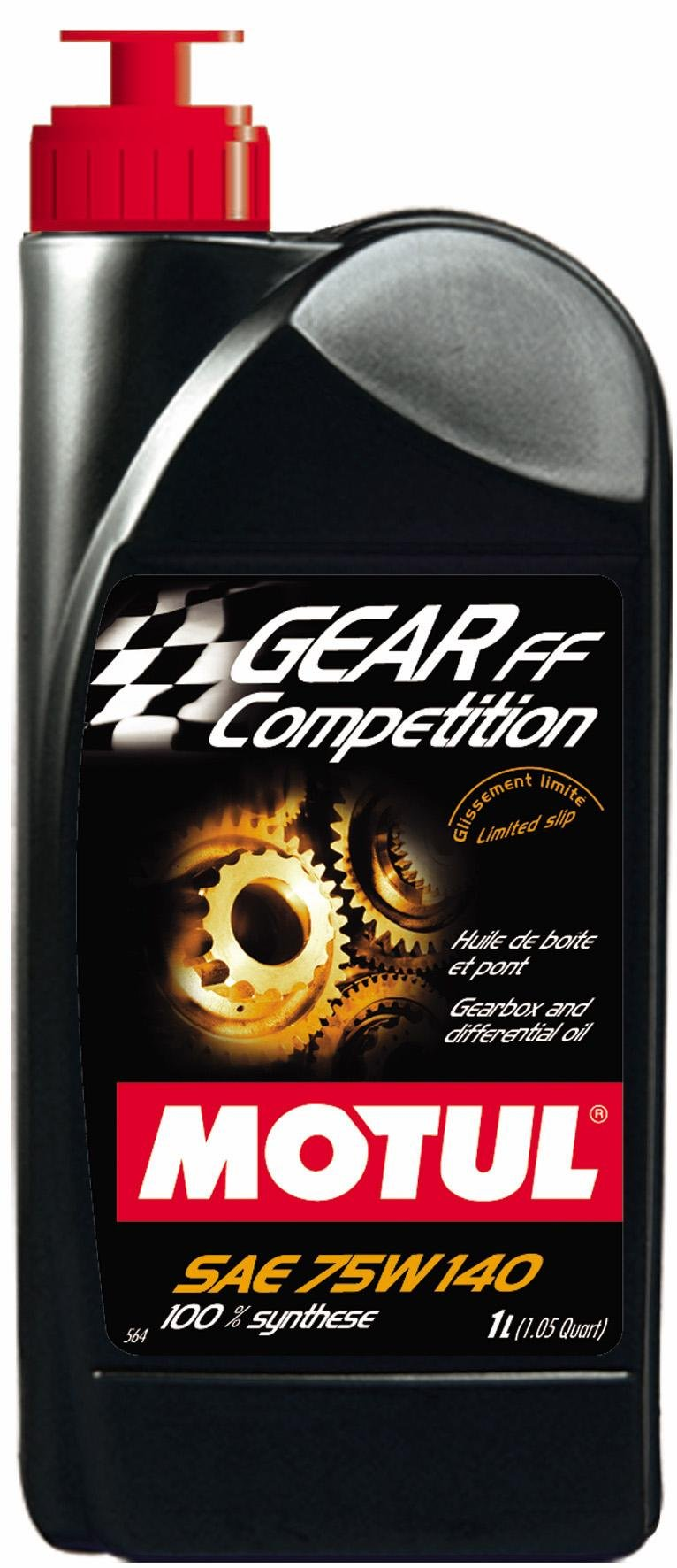 Motul Gear Competition 75W140 1L (Pack of 2)