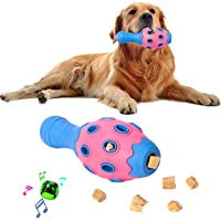 Tough Dog Chew Toys for Aggressive Chewers Large Breed Small Breed, Treat Dispensing Dog Puzzle Toy, Interactive Dog…