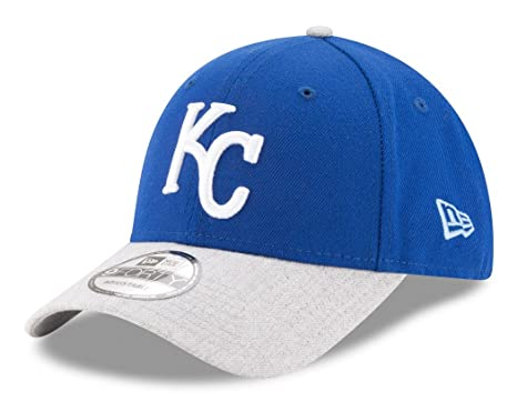 53d6250cb26 Image Unavailable. Image not available for. Color  New Era Kansas City  Royals 9Forty MLB The League Heather 2 quot  Adjustable Hat