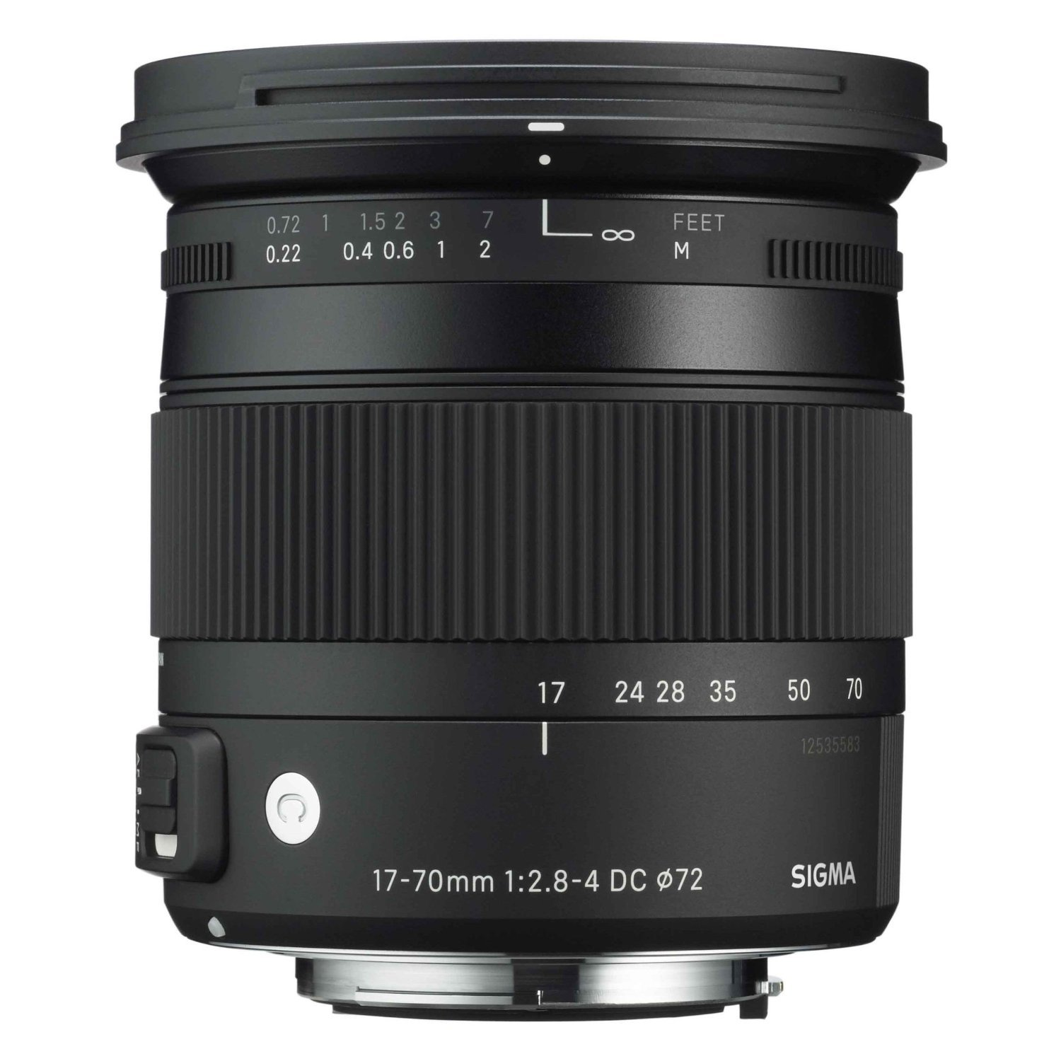 Sigma 884205 F2.8-4 Contemporary DC Macro OS HSM 17-70mm Fixed Lens for Sony Alpha Cameras by Opteka