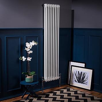 Design Heizkörper viktorianisch traditionell vertikal 1500x380mm ...