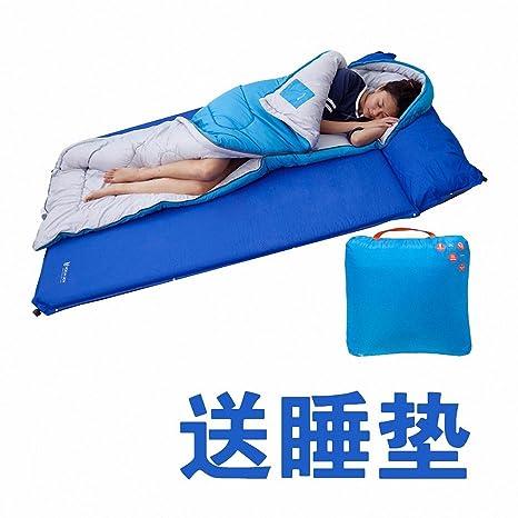 SUHAGN Saco de dormir Piscina Adulto Sacos De Dormir Al Aire Libre De Algodón De Invierno