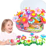 GILI Flower Garden Building Toys, Build a Bouquet Sets for 3, 4, 5, 6 Year Old Toddler Girls, Arts and Crafts for Little Kids