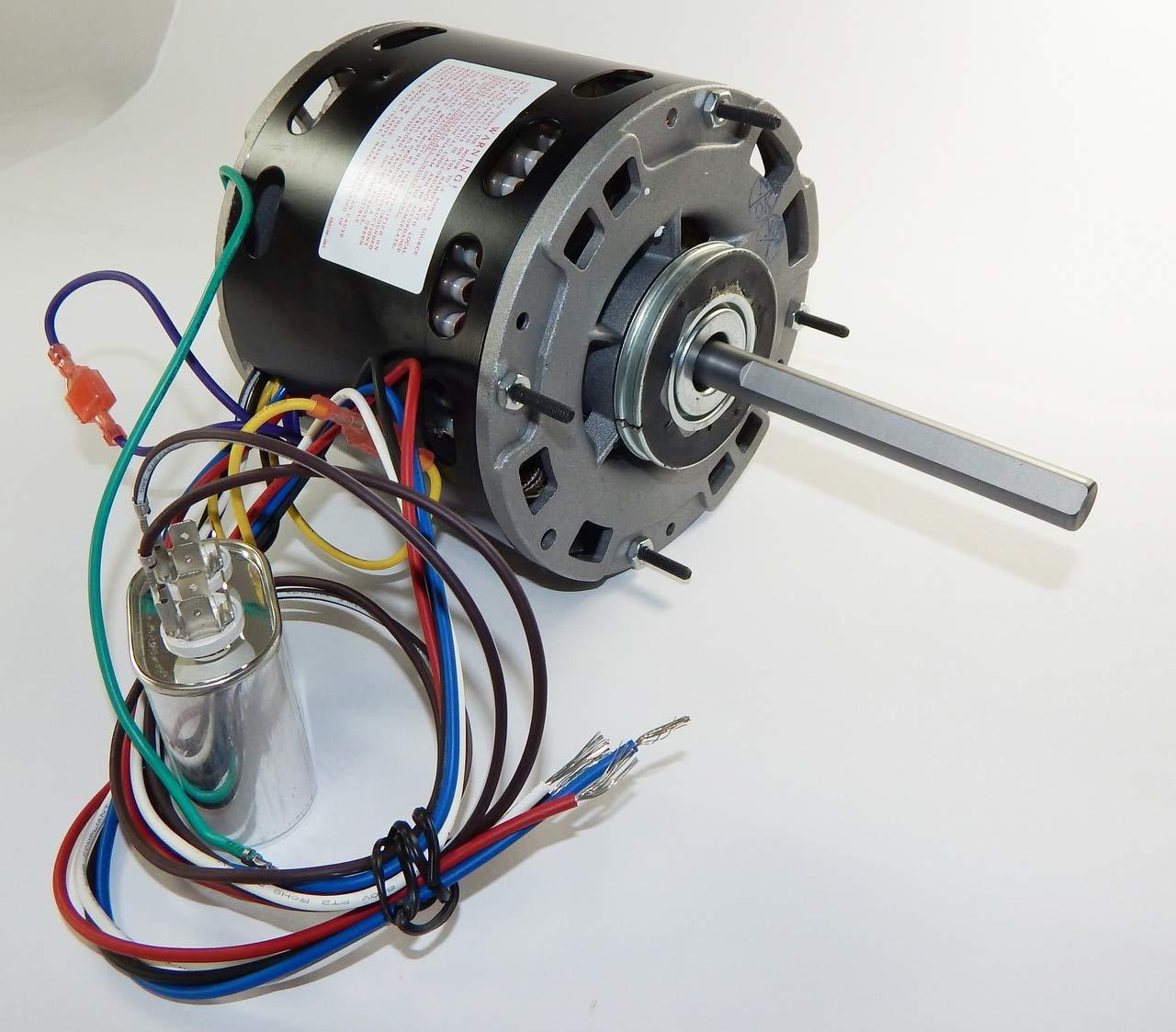 3 4 Hp 1075 Rpm Speed 48 Frame 115v Direct Drive Furnace Motor Multi Sd Blower Wiring Em3589