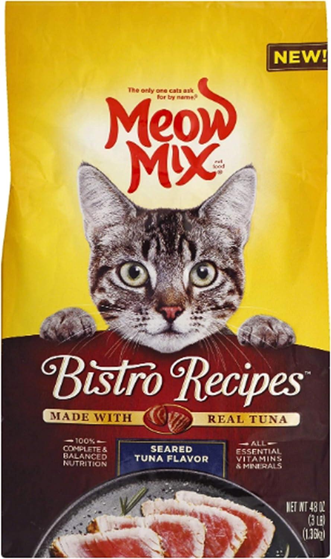 Meow Mix Bistro Recipes Dry Cat Food