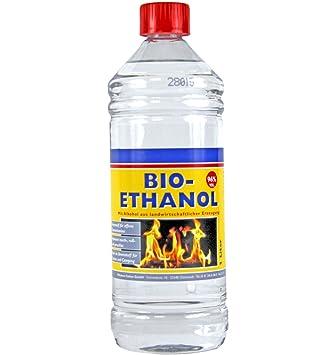 Super 100% Bioethanol Ethanol 1 Liter Flasche: Amazon.de: Küche & Haushalt GK01