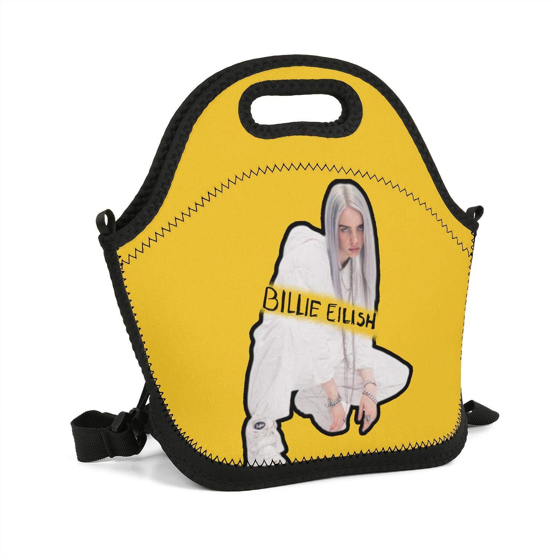 e5da532c66d3 Amazon.com - Heart Wolf Billie-eilish- Lunch Bag Lightweight Tote ...