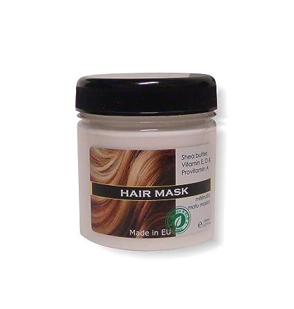 Natural Crema Pelo Máscara. Acondicionado y nutritivo para todos Tipo de cabello con vitaminas y