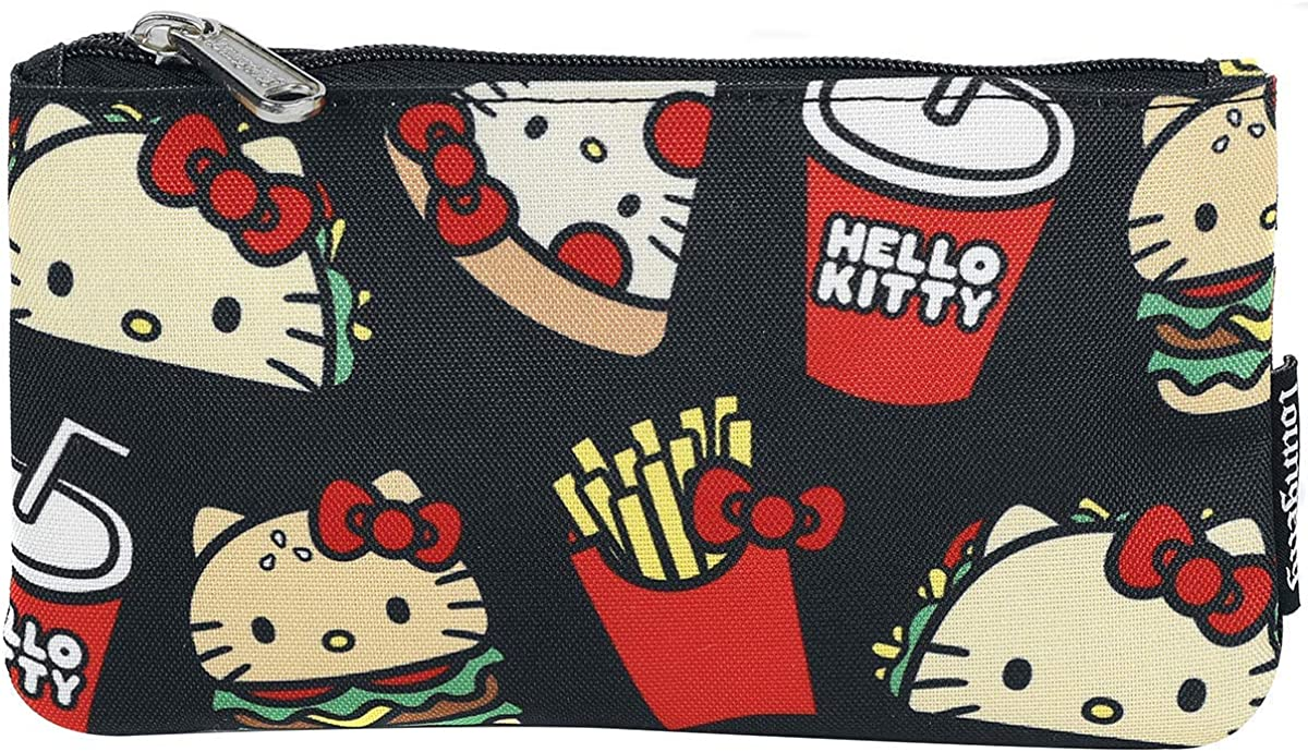 Loungefly Hello Kitty Snacks AOP Print Pouch
