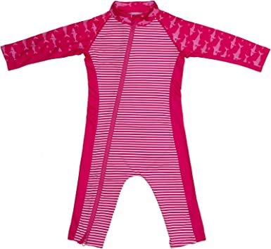 Stonz Premium Rash Guard Sunsuit for Baby Girl or Boy with UPF 50 Sun Protection Beach Pool