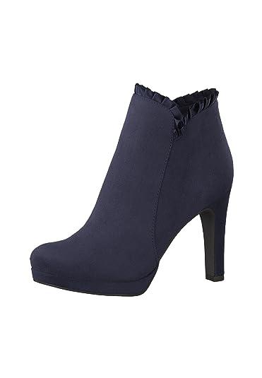 Tamaris High heeled ankle boots navy Cheap Online