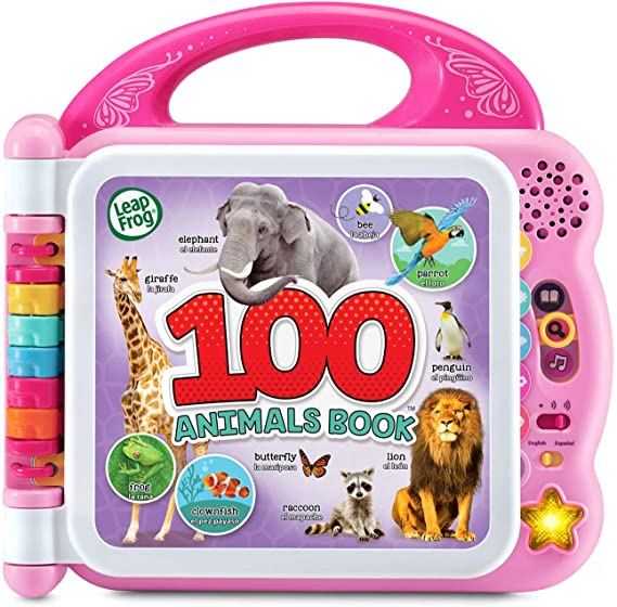 Amazon.com: LeapFrog 100 Animals Book (Frustration Free Packaging), Pink: Toys & Games