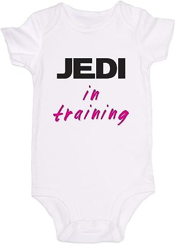 Mono de bebé Promini con diseño de Jedi en entrenamiento ...