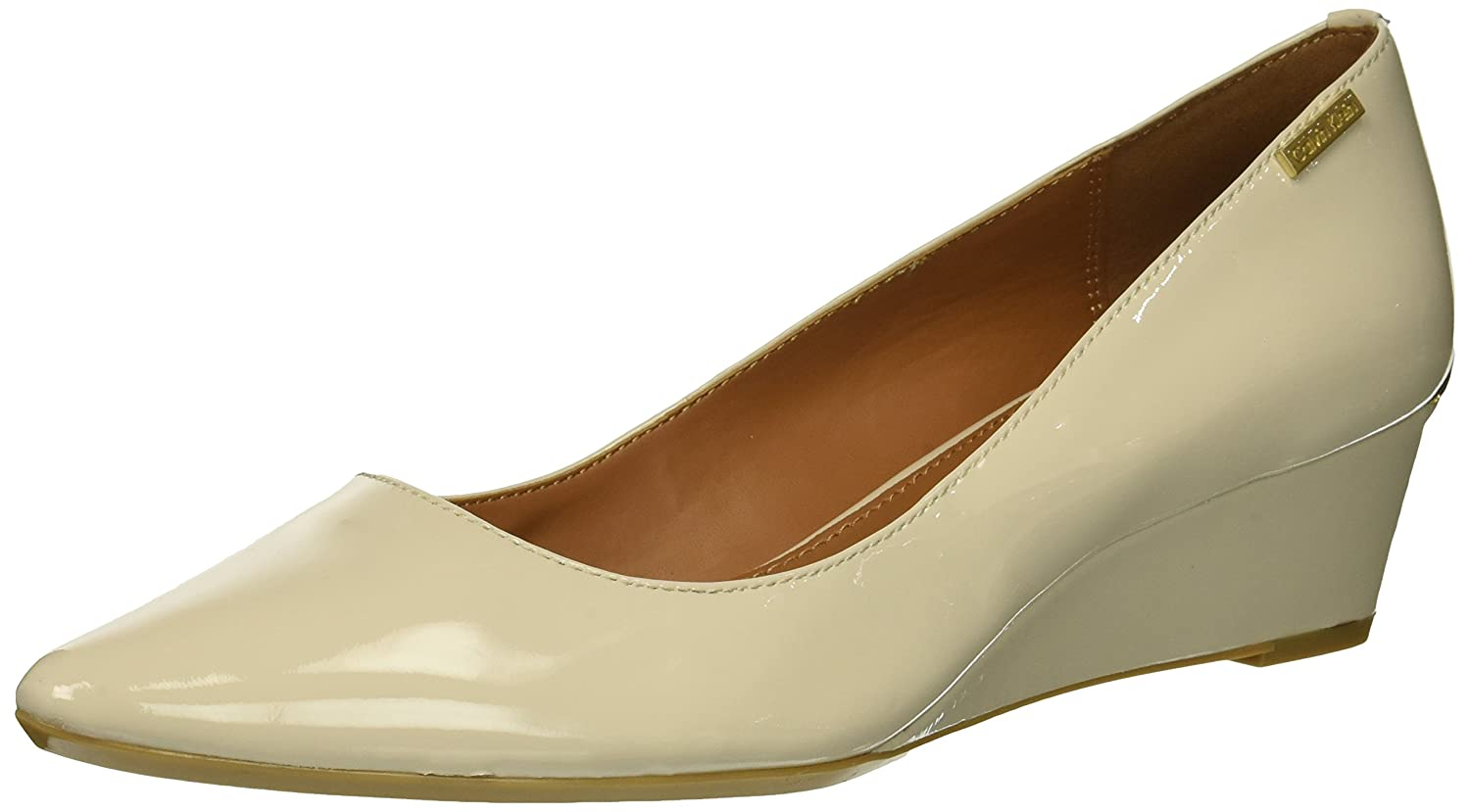 Calvin Klein Women's Germina Pump B07CHTZ63J 7 B(M) US|Soft White