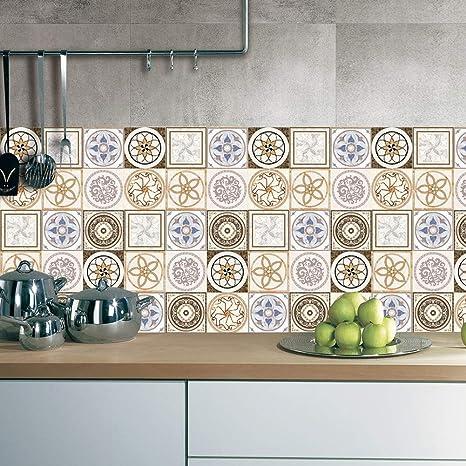 J Piastrelle per pavimento cucina | Piastrelle adesive decorazione ...