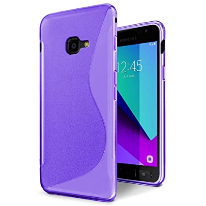 check out e11cb e8d49 Amazon.com: SLEO Galaxy Xcover 4 Case, SLEO [Exact-Fit][Tactile ...