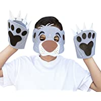 Seedling Disney's The Jungle Book Bear Mask & Paws Kit