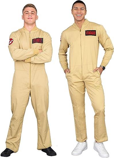 Ghostbusters Venkman Costume Jumpsuit Large
