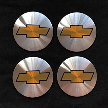 65MM, Black 4PCS 65mm 2.56 Auto Car Sticker Wheel Center Hub Cap Logo Aluminium fit for Chevrolet C4500 Camaro Chevy Cheyenne Colorado Corvette Cruze Express 2500 3500 4500 Silverado