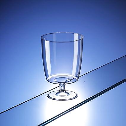 Una pieza copas de plástico desechables (200 ml) y # x2605; Pack de
