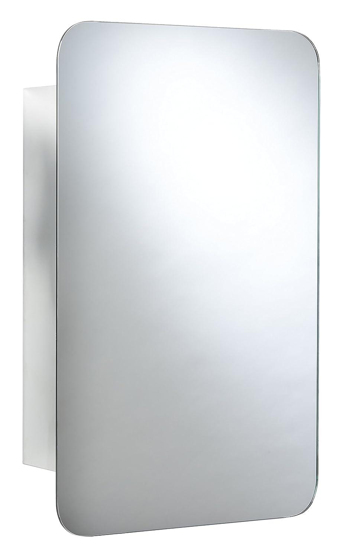 Croydex Medway de porte coulissante armoire - en acier inoxydable - argent - 500 x 380 x 110 mm