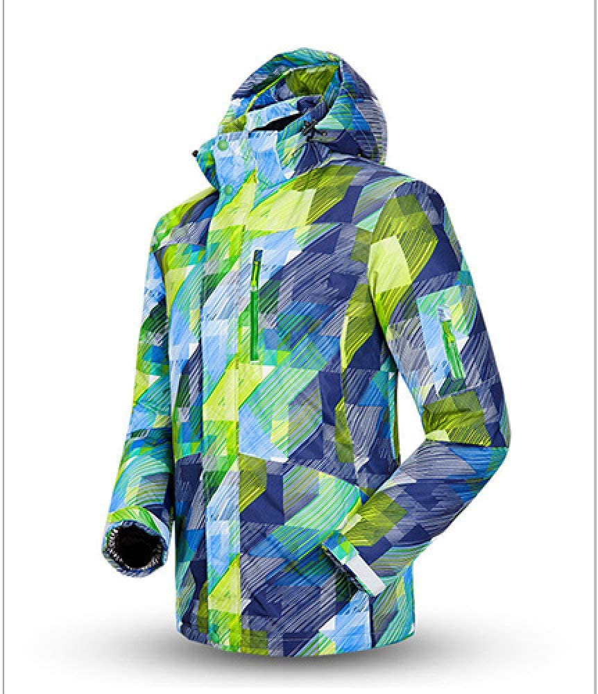 NZPWY Trajes de esquí,Hot Ski Suit Men Winter New Outdoor Outdoor Waterproof Waterproof Thermal Male Snow Pants Sets Esquí y Snowboard Ski Jacket Men, Jacket 1, XXL: Amazon.es: Deportes y aire libre
