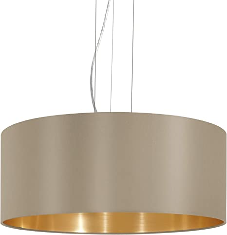 Eglo 31607 lámpara de interior, metal, E27, color marrón
