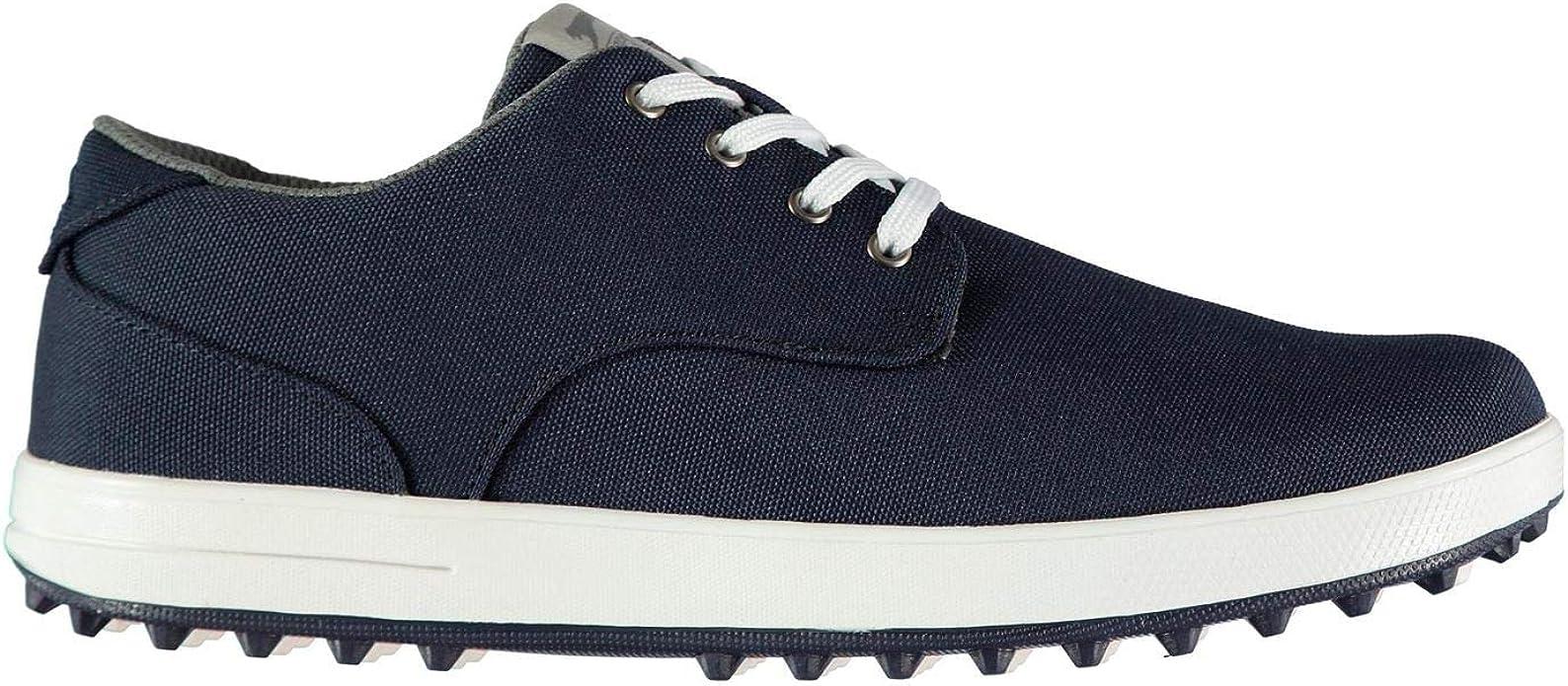 Slazenger Mens Canvas Golf Shoes